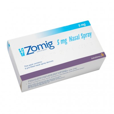 Zomig 5mg Nasal Spray - Migraine