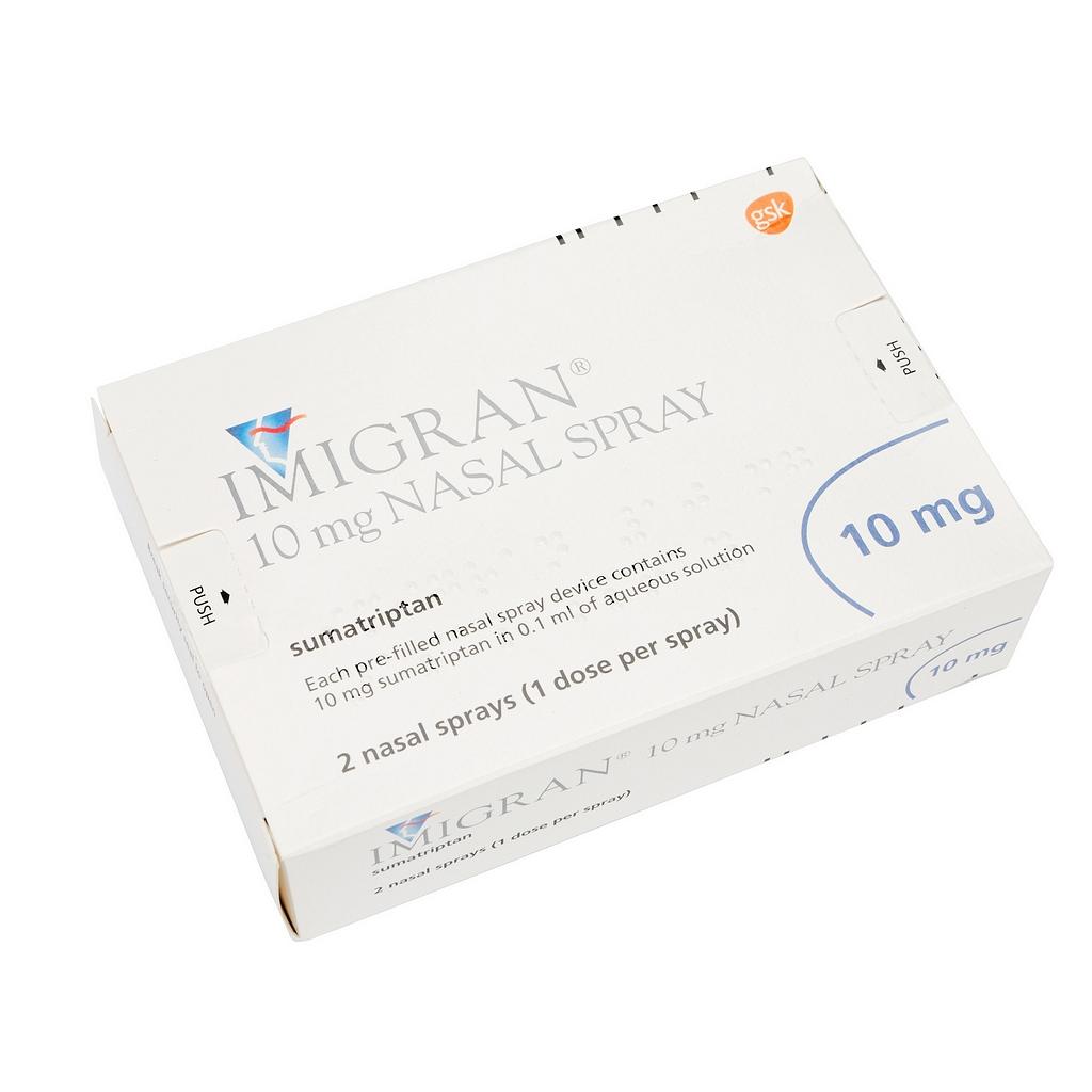 Imigran Nasal Spray - Migraine
