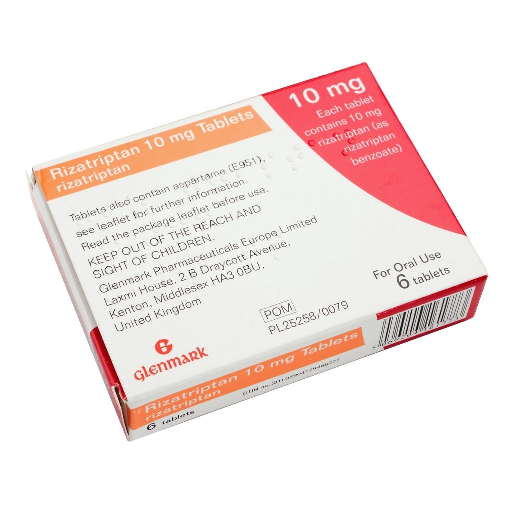 Rizatriptan Tablets - Migraine