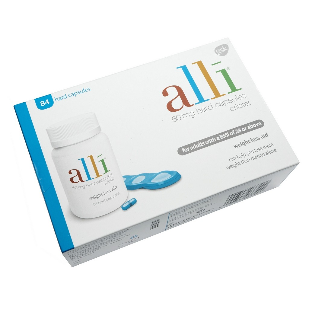 Alli 60mg Caps - Weight Loss Tablets